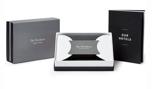 The Dorchester monetary gift cards