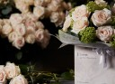 The Dorchester signature rose bouquet
