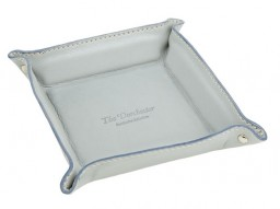 The Dorchester leather tray