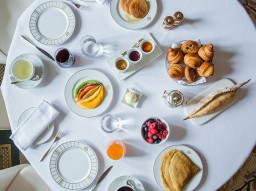 American Breakfast at Le Meurice