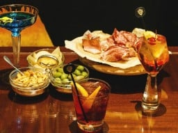 Milanese aperitivo for two at Principe Bar