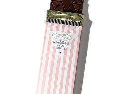 Compartes dark chocolate salted caramel bar