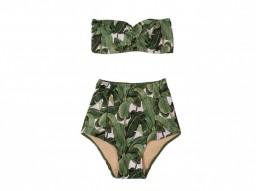 Poprageous Martinique Print Bikini Set