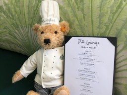 Steiff chef teddy bear