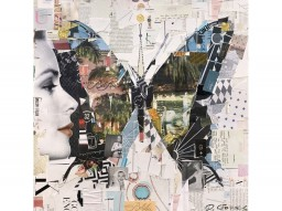 'Bel-Air Butterfly' limited edition print